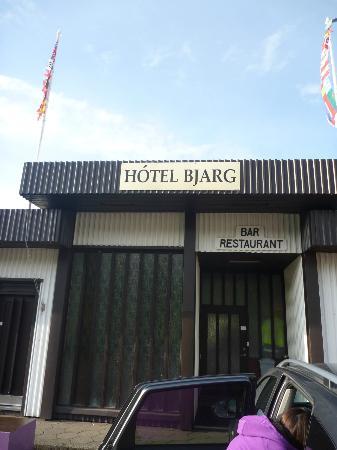 Hotel Bjarg: L'ingresso