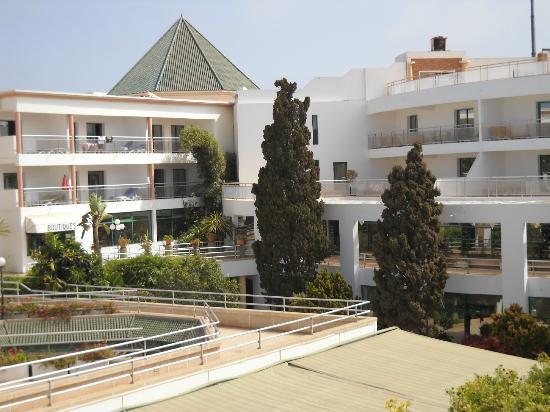Hotel Agadir Beach Club: Cour intérieure