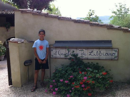 Casolare di Libbiano: La entrada