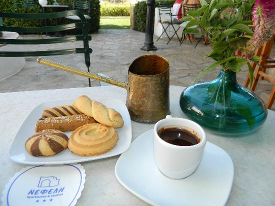 Nefeli Hotels: TIME FOR GREEK COFFEE AND TRADITIONAL COOKIES!
