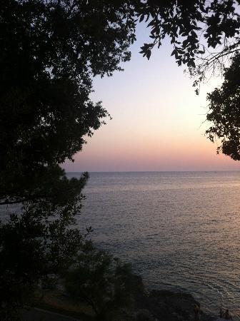 Splendid Golden Rocks Resort: vue de la terasse
