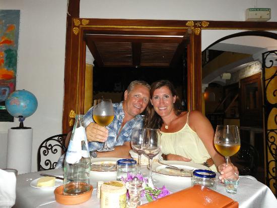 La Villa Mahana: Dinner!