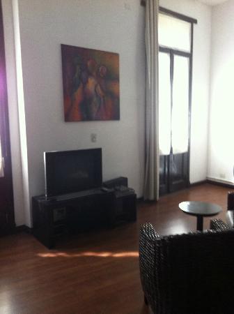 Palermo Soho Loft: Lounge area