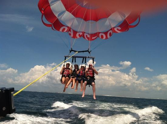 Just Chute Me Parasail: photo taken with my iPhone.