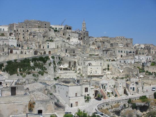 Hotel Palatinum: I Sassi di Matera (scorcio)