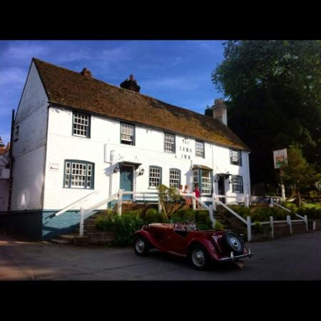 The Lamb Inn: The Lamb in summer 2012