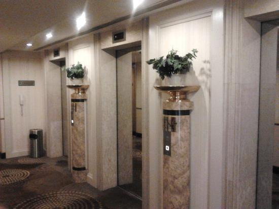 Newton Hotel Hong Kong: Lift Lobby