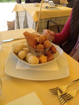 Sotto Cortona: il fritto per antipasto