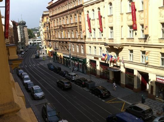 EA Hotel Manes: veduta dalla camera 205