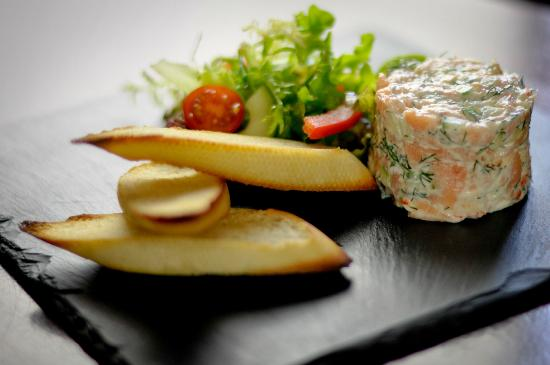 The Brewhouse: Prawn & Salmon terrine