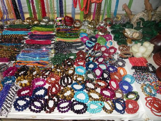 Wide Variety Of African Crafts Review Of Lekki Market Lagos