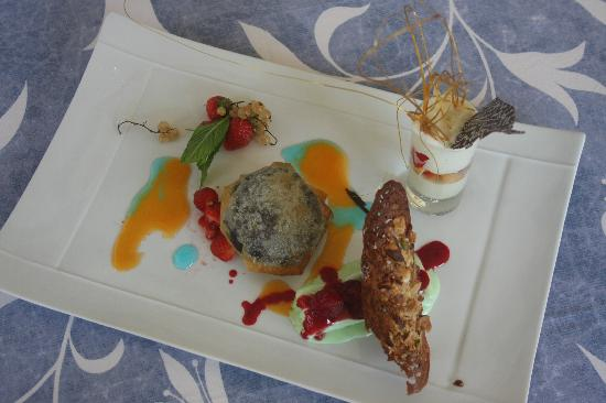 Restaurant Amoulat : Dessert varié et original
