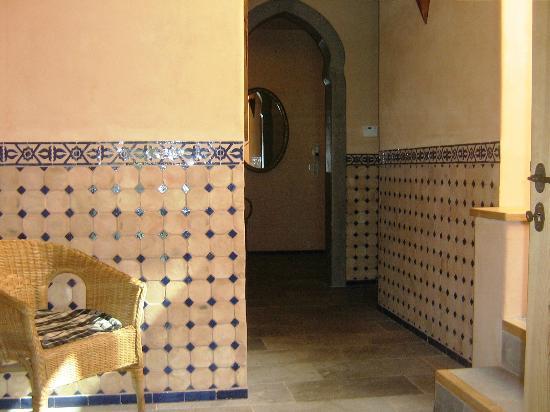 Locanda del Gallo: Zona Relax (Bagno turco, doccia emozionale, ampio salone dove sono a disposizione tisane e thè)