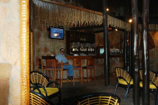 Sarova Mara Game Camp: The Bar