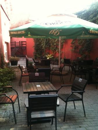 Europejski Boutique Hotel: Outside bar