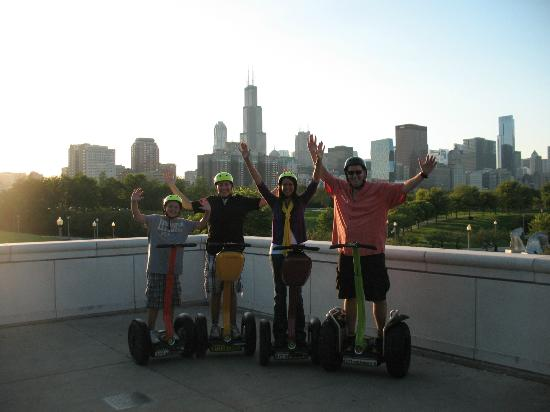 The family and I on the Chicago Segway tour!