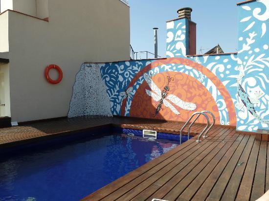 Hotel Ciutat de Barcelona: Piscina
