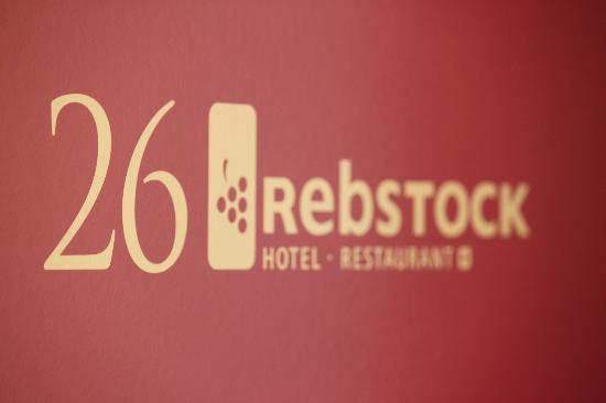Hotel Rebstock: Zimmertür