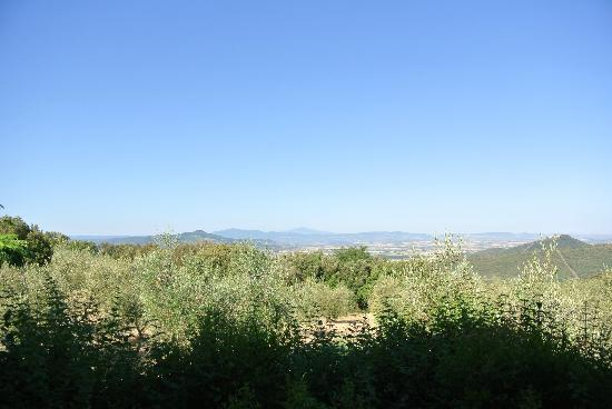 Country House Montali: View from our bedroom