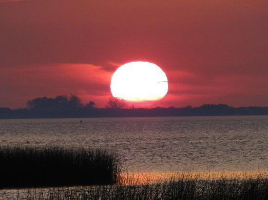 Playa Sere: Puesta del sol
