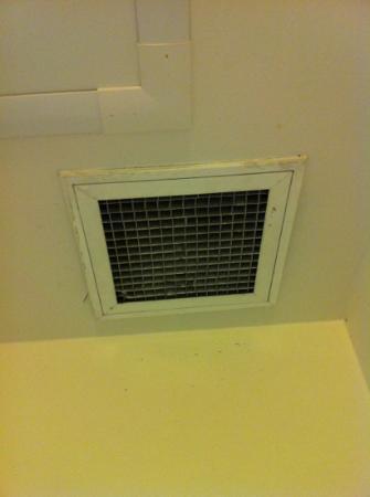 Ibis Sydney Darling Harbour: Fan above shower is gross. 