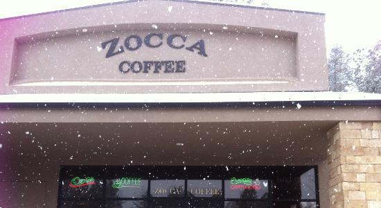 Zocca Coffee: Snowy Day at Zocca