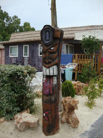 Camping-Resort Le Floride & L'Embouchure: Tiki Village