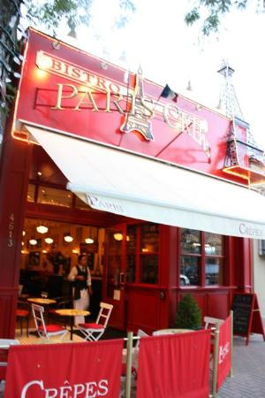 Paris Crepes Cafe, Blink....you are in Paris
