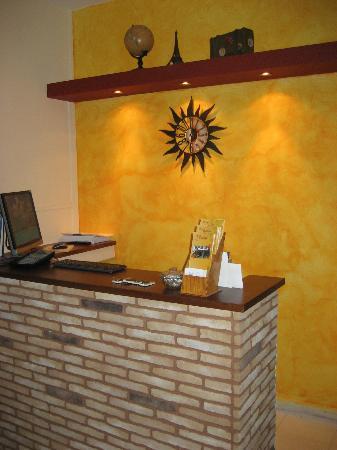 Hotel Thalia Palekastro: Reception