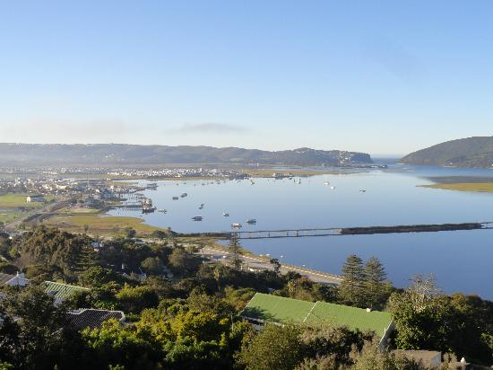 Paradise Found: The Knysna Lagoon at daytime - no wind blowing!