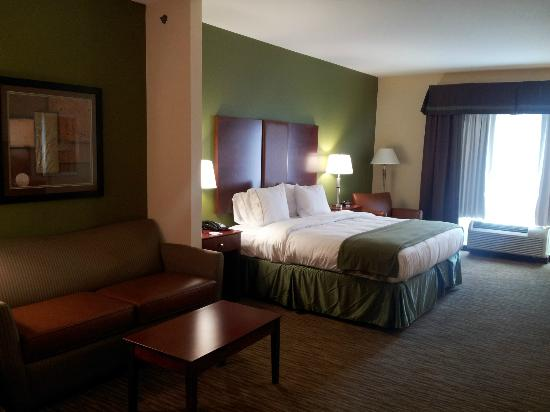 Holiday Inn Express and Suites Wytheville: King Studio Suite