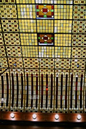 Hotel Boulderado : Original ceiling in the lobby