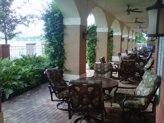 Hampton Inn & Suites Ft Lauderdale / Miramar: Back Patio