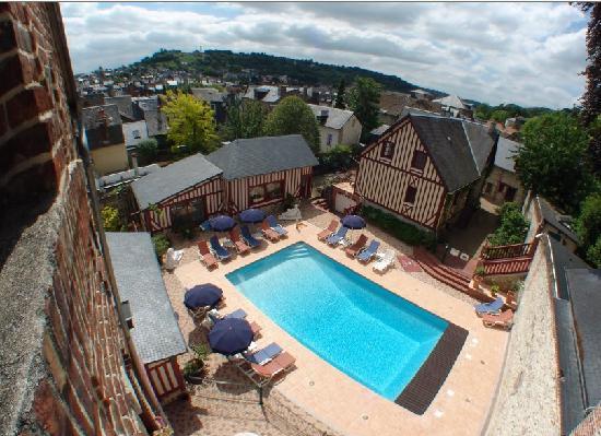 Hotel l'Ecrin: piscine
