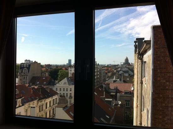Le Chatelain Hotel: finestra panorama
