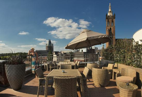 Hotel Dux: Roof terrace