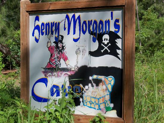Morgan's Bluff: henry morgans cave