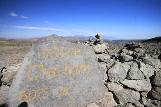 San Miguel Viewpoint: There are markers in the direction of each volcano