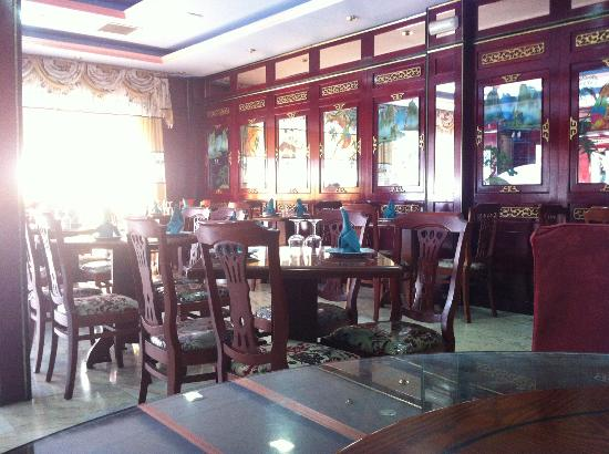 Xin Hui Zhang : Restaurant dining