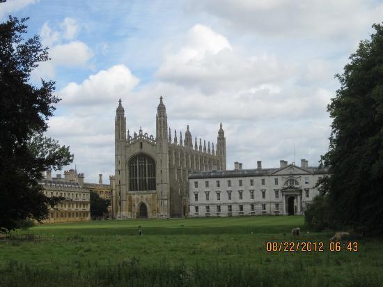 Cambridge Bike Tours: King's College Chapel