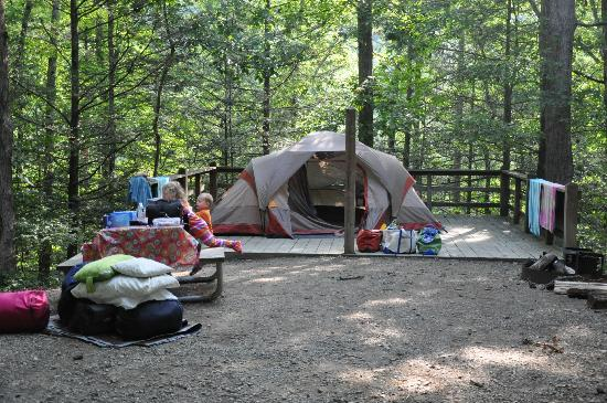 Hungry Mother State Park: Campground C