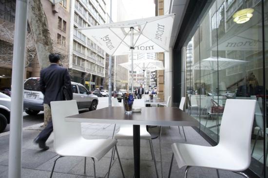 More! Espresso Bar: Outdoor sitting