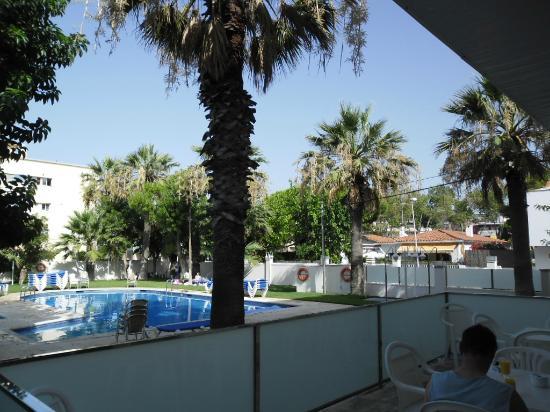 Hotel Playafels: gepflegter Poolbereich