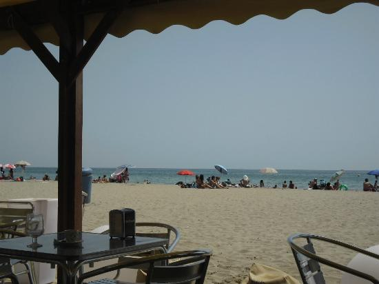 Hotel Playafels: in der Strandbar