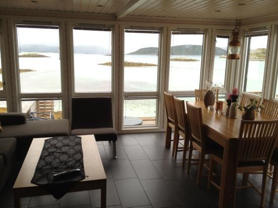 Sommaroy Arctic Hotel Tromso: Utsikt fra hytte/sjøbu nr 52