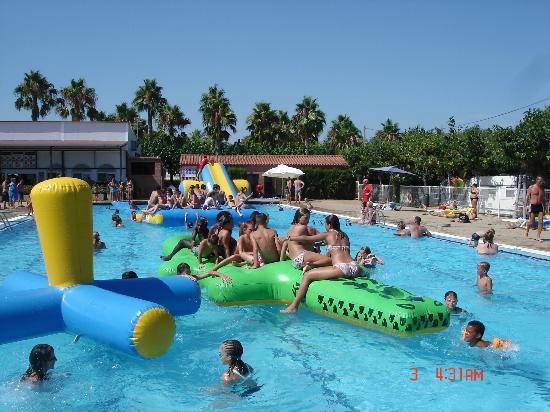 Campsite Platja Cambrils : piscine