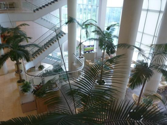 Hotel Hana: ロビー(水やお湯のサーバー有)