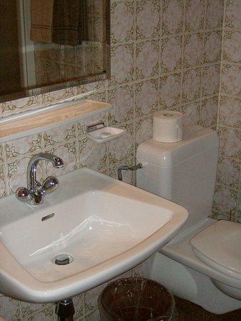Hotel Garni Hubertushof: bagno