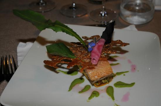 Restaurant de l'Auberge du Chateau: une des plats de notre diner