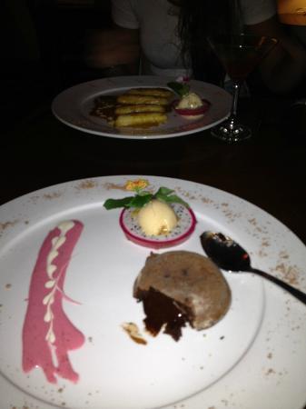 OdeV: Chocolate fondant desert